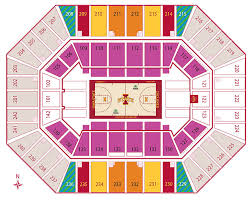 Facility Seating Charts Iowa State University Athletics