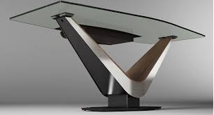 office desk metal. Your New Office Space Just Got Better With This Modern Desk. The Strong Metal Frame Provides Wire Management, And Glass Top Gives A Crisp Look To Desk