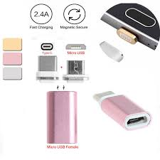 <b>Mayitr 2 In 1</b> Magnetic Micro USB Female To Type C Male Charger ...