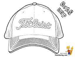 Small Picture Golf Colouring Pictures Golf Cap Two Fisted Golf Coloring Pages