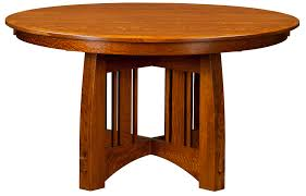 compact mission style expanding dining table the american bungalow collection mission style dining room set oak