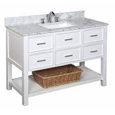 Kbc New Hampshire 48 Single Bathroom Vanity Set Base Finish White Home Improvement Bathroom Bathroom Sinks Vanities Bathroom Vanities Bath Vanity Combos