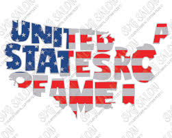 american flag word art united states of america fourth of july patriotic flag map word art