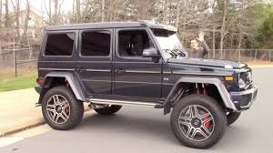 Luxury vehicles include all models from dedicated luxury brands plus luxurious models selected by our editors. The Mercedes G550 4x4 Squared Is A 250 000 German Monster Truck Youtube