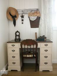 vintage office decorating ideas. A Craigslist Find Vintage Desk Is Worn-out And Needing Lift. Teenage Office Decorating Ideas