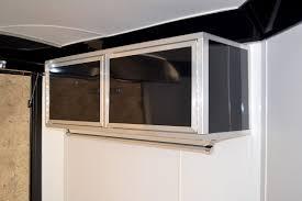 Cabinets For Cargo Trailers Enclosed Car Hauler Snowmobile Hauler Aerosport Combo Trailer