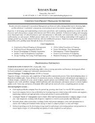 sle resume cover letter construction manager inspirationa
