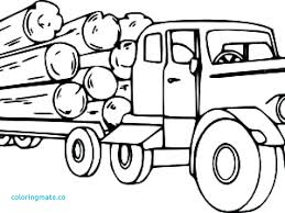 logging coloring pages logging truck in semi coloring page pages for kids disney free