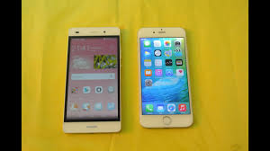Huawei P8 Lite Vs Iphone 6 Huawei Ascend P8 Youtube Huawei P8 Lite Vs Iphone Full Comparison Hd