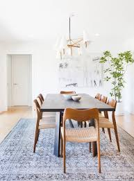 modern dining room rugs. Love How Bright And Airy It Feels, But The Color From Rug Warms Up Modern Dining Room Rugs