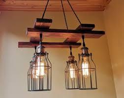 dining room lighting fixtures. Rustic Light Fixture - Hanging Lighting Industrial Pendant  Wood Chandelier Farmhouse -Dining Dining Room Lighting Fixtures E
