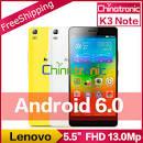 Оригинальный Lenovo K3 Note ОС Android 50 8
