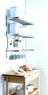 kitchen utensil hooks coffee mug holder wall cup matchless mounted from stainless steel rack mount ikea co