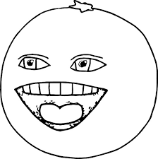 Small Picture Printable Annoying Orange Coloring Pages Coloring Me