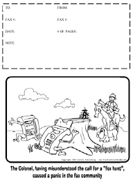 Cartoon 15 Fax Cover Sheet At Freefaxcoversheets Net