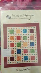 Slide Show By Atkinson Designs Upc 643053001381 Slide Show Quilt Kit With Pattern