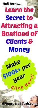 make 100k per year as a nail technician