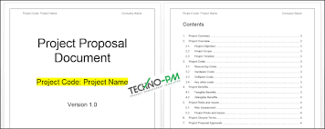 New Project Proposal Template Project Proposal Template Word Template Project