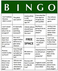 Office Bingo Play World Cup Bingo What Your Friends And Colleagues Will Say