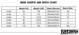 Tatami Belt Size Chart Tatami Ibjjf Rank Shorts Blue