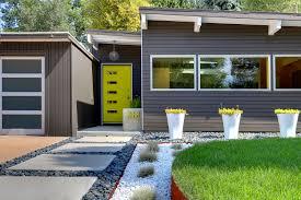 Mid Century Modern Landscape Design LightandwiregalleryCom - Home landscape designs
