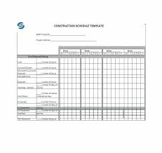 Microsoft Project Construction Scheduling Template Excel Construction Schedule Template Free Templates Microsoft