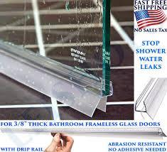 2 pack 3 8 frameless shower door sweep