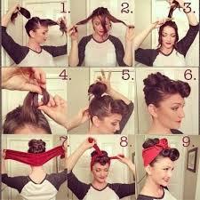 Postup Pre Rýchly účes Hair Peinados Pin Up Peinados Vintage Y