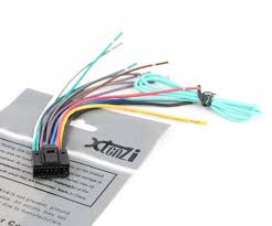 xtenzi wire harness radio in dash aftermarket cable plug xtenzi wire harness radio for jvc exad arsenal speaker cord dvd kw avx nx adv