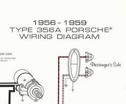 porsche® 1956 1959 wiring diagram poster ynz s online store click to enlarge click to enlarge click to enlarge