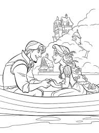 Small Picture Tangled Coloring Pages 10 Coloring Kids