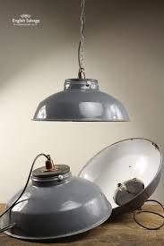 retro lighting pendants. Vintage Industrial Enamelled Metal Grey Dome Pendant Lights. Retro Lighting Pendants G