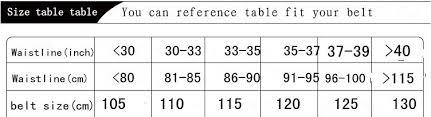 Mens Belt Size Chart Cm 5 How Do Belt Sizes Work Mens Belt Size Chart Us
