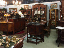 Antique Furniture Editorial Stock Image