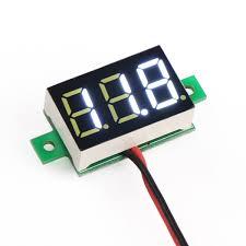 drok dc voltage voltmeter drok 090563 dc voltmeter