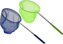 2 Pcs <b>Outdoor</b> Catching Catching Butterfly Net Fishing Net Bag ...