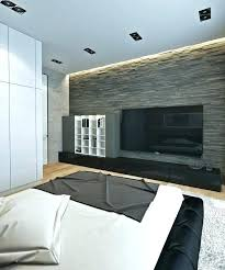 Stone Wall Bedroom Interior Stone Wall Bedroom Grey Stone Accent Wall Plus  Modern Wall Mount Also