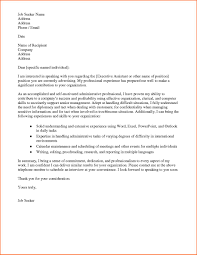 nice cover letter for administrative position – letter format writing