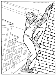 Small Picture Spider Man color page Cartoon Color Pages printable cartoon