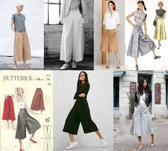 Culottes Pattern Awesome Beginner Sewing Patterns MIY Workshop