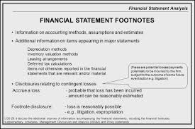 29 Most Common Accounting Footnote Disclosures Unymnaehearml