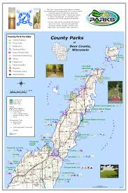 door county park map