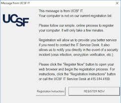 Registering Your Computer It Ucsf Edu