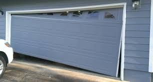 broken garage doorGarage Door Repair Albany OR  Opener Replacement  New Springs
