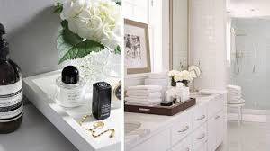 Bathroom Vanity Tray Decor Enchanting Vanity Trays For Bathroom Home Gallery Idea 4
