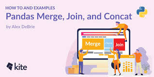 pandas merge join and concat how to