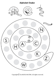 6ed27ef274f819ae8f0ad3cc5b289f9c alphabet snake worksheet lesson planet crafts for kids on worksheet teacher