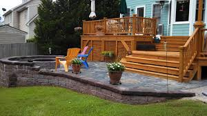 wood patio decks pictures best ideas of custom built wood deck and stone patio deck patio