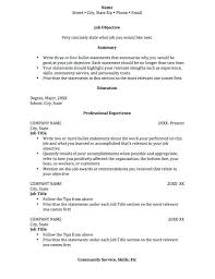 Rock Your Internship Resume Samples Templates Format Student Intern