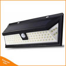 Outdoor Lighting Security Lights Hot Item 80 Led Motion Sensor Lamp Outdoor Solar Powered Security Light